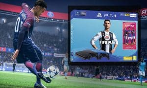 ps4 slim fifa 19 2 manettes