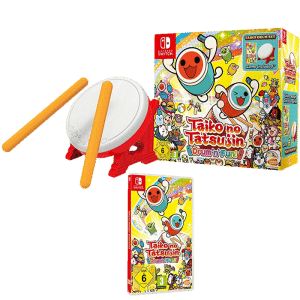TAIKO NO TATSUJIN DRUM N FUN SUR NINTENDO SWITCH TAMBOUR