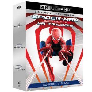 Coffret-Spider-Man-Origins-La-Trilogie-Blu-ray-4K-Ultra-HD