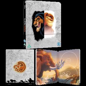 le roi lion steelbook blu ray 4k