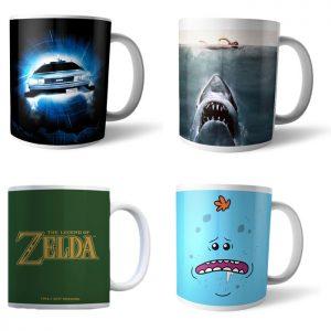 4 mugs pour 17 euros zavvi