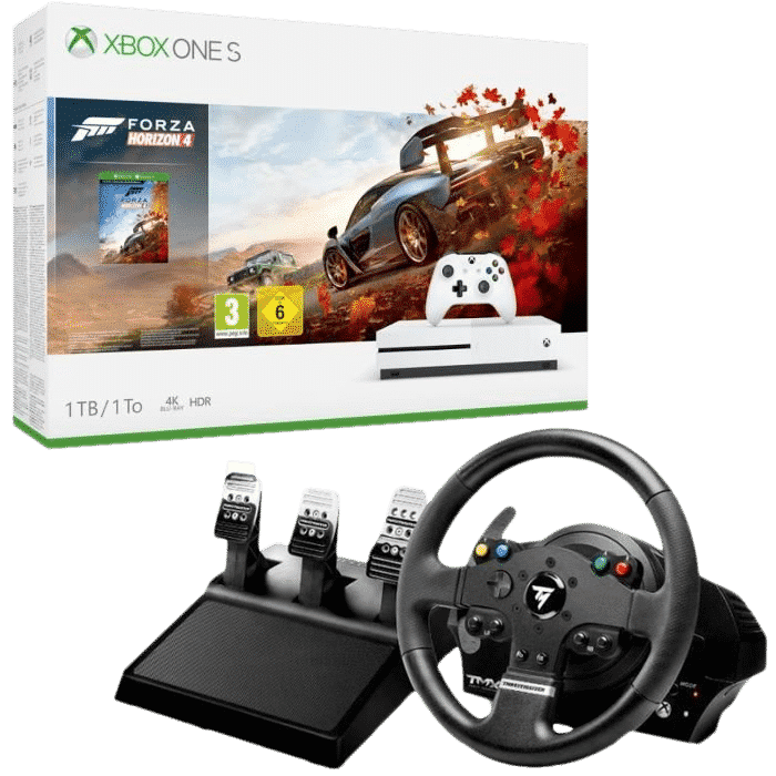 xbox one s forza horizon 4 volant tmx 329. Black Bedroom Furniture Sets. Home Design Ideas
