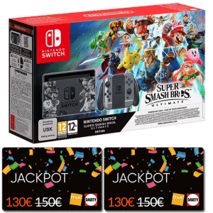 Carte Cadeau Nintendo Fnac.Promo Nintendo Switch Super Smash Bros A 309