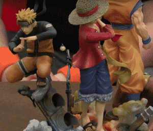 photos diorama collector jump force chocobonplan 1