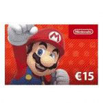 Récompense : Carte Nintendo eShop 15 euros