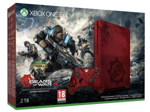 Xbox One S 2to Edition Gears Of Wars 4