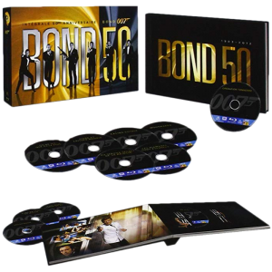 James Bond intégrale 50e anniversaire blu ray