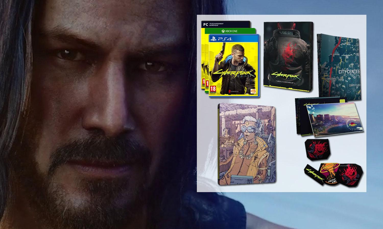 SLIDER cyberpunk 2077 day one ps4 xbox one pc steelbook fnac