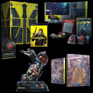 cyberpunk 2077 collector pc produit steelbook exclusif fnac