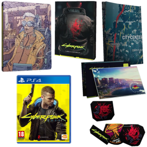 cyberpunk 2077 day one ps4 steelbook fnac v2