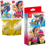 pokemon double pack epee bouclier steelbook