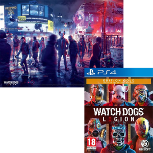 watch dogs legion gold edition ps4 poster visuel produit