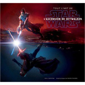 artbook star wars l'ascension de skywaker