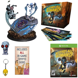 destroy all humans collector xbox one