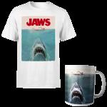 t-shirt et mug dents de la mer