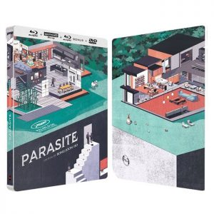 PARASITE EDITION COLLECTOR BLU RAY 4K 2D DVD STEELBOOK