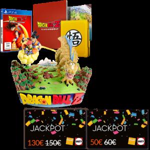 dbz kakarot ps4 collector carte jackpot fnac