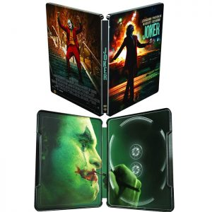 Joker 4K Ultra HD Blu Ray SteelBook
