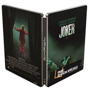 Joker en Blu Ray 4K 2D steelbook edition speciale Fnac