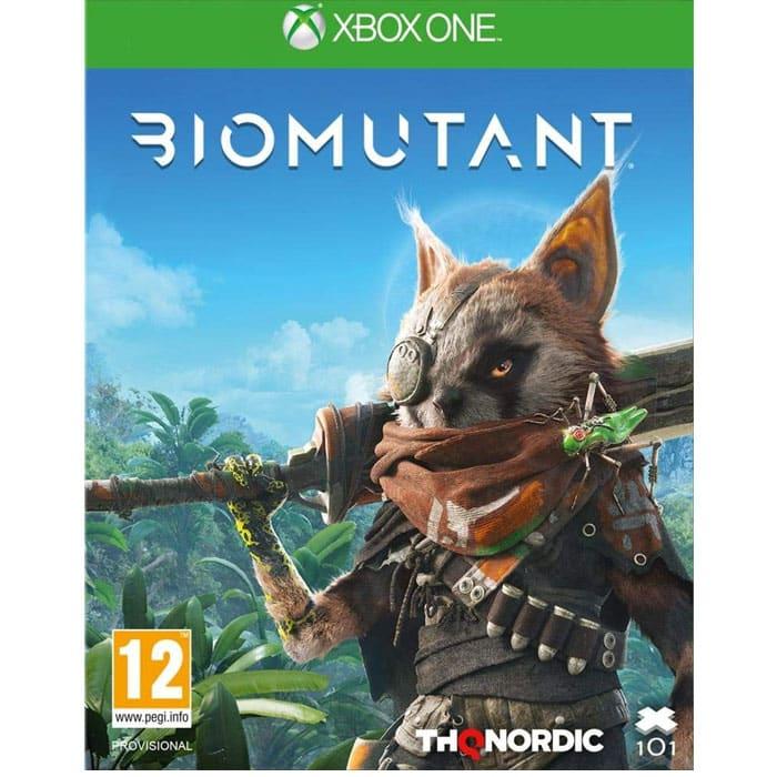 Test de Biomutant sur Xbox séries X