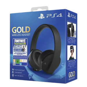 casque gold noir ps4 fortnite