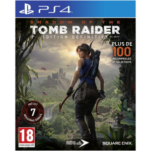 shadow of the tomb raider definitive edition ps4