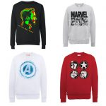 Lot de 2 Sweat Marvel en promotion
