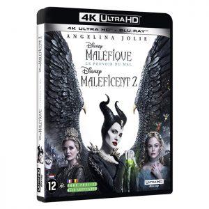 Malefique Le Pouvoir du mal en Blu Ray 4K Blu Ray