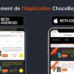 SLIDER lancement version beta application chocobonplan v1