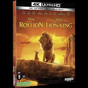 le roi lion 4K blu ray visuel produit