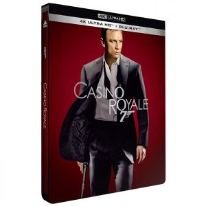 Casino Royale Blu Ray 4K edition limitee steelbook