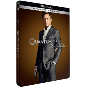 James Bond quantum of solace Blu Ray 4K edition limitee steelbook