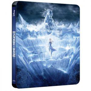 La Reine des Neiges 2 en Blu Ray 3D 2D steelbook edition spéciale Fnac