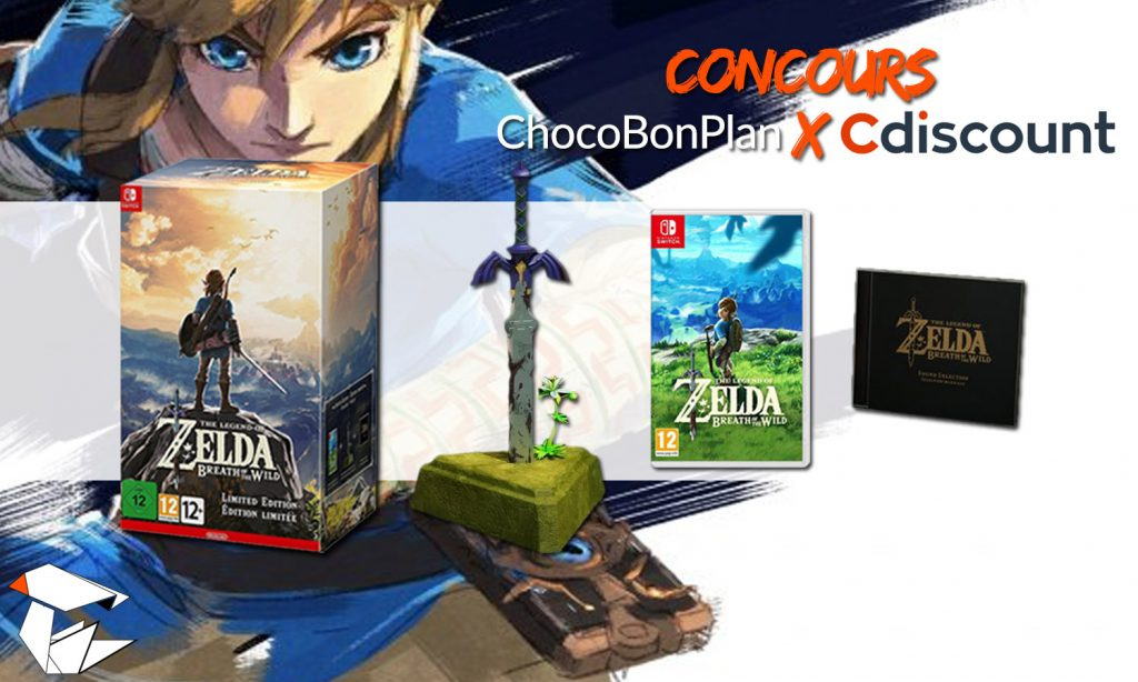 Concours Zelda Switch Le Collector à Gagner