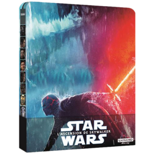 Star Wars Ascension de Skywalker Blu Ray 4K 2D steelbook vdef
