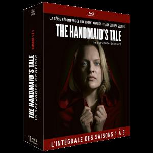 The Handmaids Tale saisons 1 a 3 en Blu Ray visuel produit