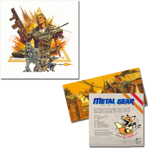 Vinyle Metal Gear MSX 2