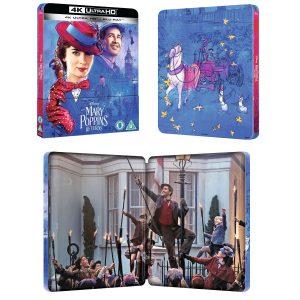 mary poppins 4k blu ray steelbook