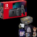 nintendo switch grise box cadeau produits derives