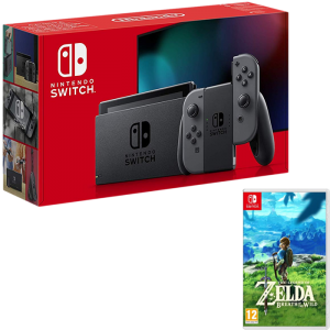 nouvelle switch grise zelda breath of the wild botw