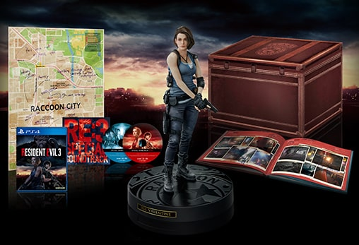 resident evil 3 collector ps4 remake