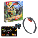 ring fit adventure switch carte jackpot fnac