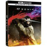 47 Ronin en Blu Ray 4K Steelbook Blu Ray 2D