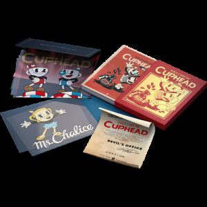 Artbook Tout l'art de Cuphead Edition Deluxe