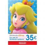 Récompense : Carte Cadeau eShop Nintendo 35 €