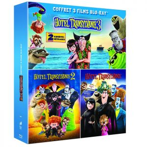 Coffret 3 films Hotel Transylvanie Blu Ray