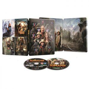 Jumanji Next Level Edition Steelbook Blu Ray 4K Blu Ray visuel def
