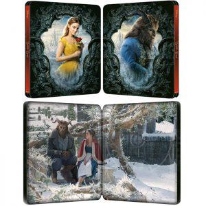 La belle et la Bête en Blu Ray 4K Steelbook