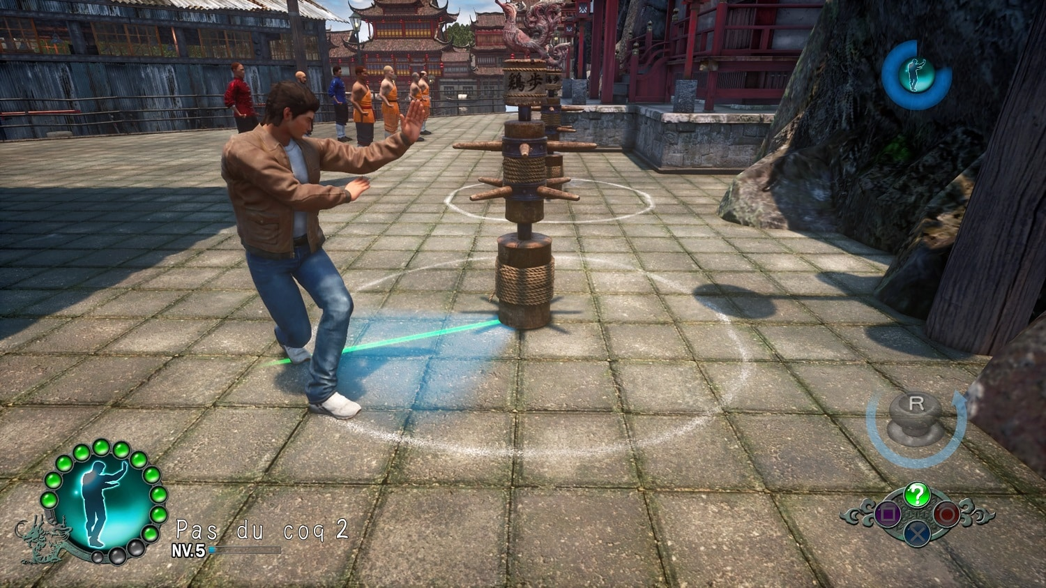 test shenmue 3 et le gameplay alors