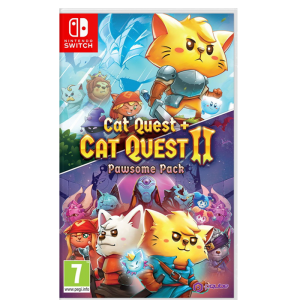 cat quest 1 et 2 compilation switch